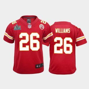 Youth Chiefs Damien Williams Super Bowl LIV Jersey